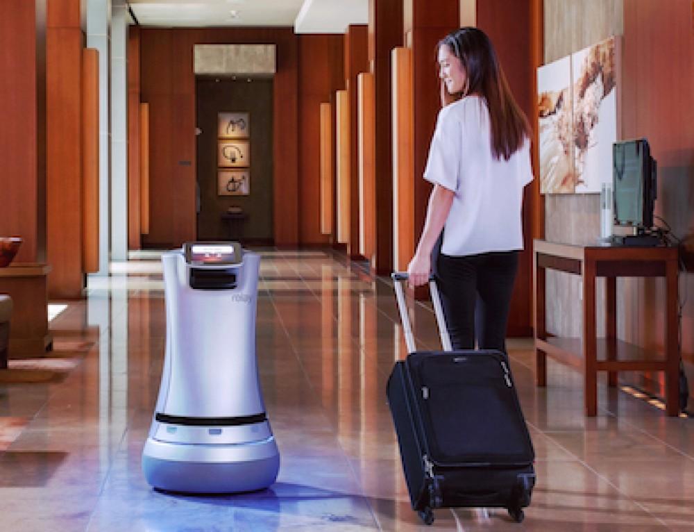 Konica Minolta and Savioke Collaborate To Improve Guest Experience Through Service Robots